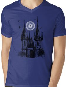 castle  Mens V-Neck T-Shirt