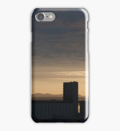Old Quebec And The Mountains At Dawn iPhone Case/Skin