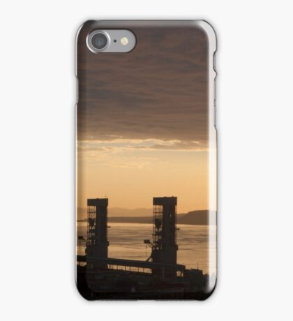 Old Quebec And The St Lawrence At Dawn iPhone Case/Skin