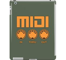 Midi  Orange iPad Case/Skin