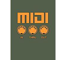 Midi  Orange Photographic Print