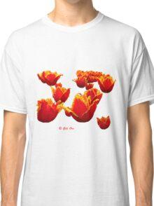 Fire flowers Classic T-Shirt