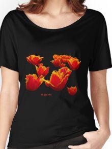 Fire flowers Women's Relaxed Fit T-Shirt