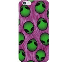 ufo on fur case iPhone Case/Skin