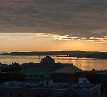 Old Quebec Sunrise by Gary Chapple