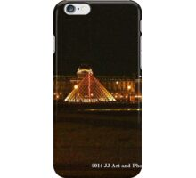 France - Louvre Night iPhone Case/Skin