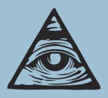 Illuminati eye Kids Clothes