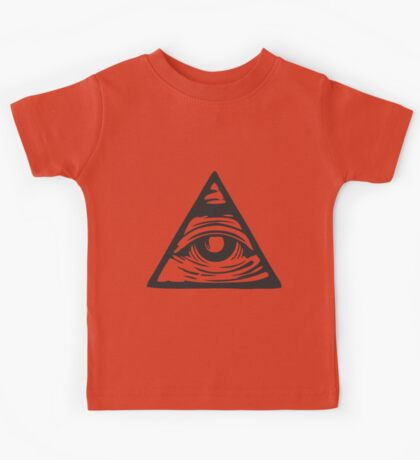 Illuminati eye Kids Tee