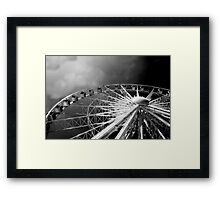 The Wheel of Excellence Framed Print