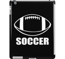 Soccer Funny Geek Nerd iPad Case/Skin