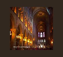 France - Notre Dame Interior Unisex T-Shirt