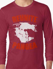 Reunite Pangea Funny Geek Nerd Long Sleeve T-Shirt