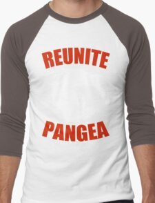 Reunite Pangea Funny Geek Nerd Men's Baseball ¾ T-Shirt