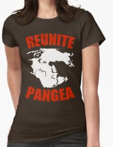 Reunite Pangea Funny Geek Nerd Womens Fitted T-Shirt