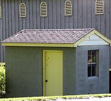 Blue Farm Hobbit Hut by LavenderMoon
