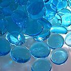 Aqua Glass by Veronica Hoffman