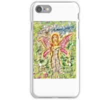 Fairy at twighlight iPhone Case/Skin