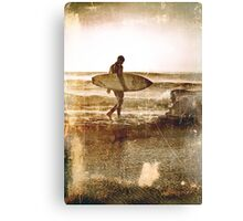 Vintage Surfer Canvas Print