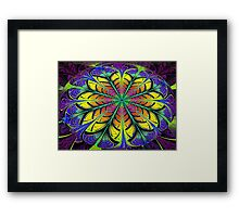 Lens Flower  (UF0269) Framed Print