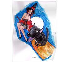 Patchie Su's Wild Ride Poster