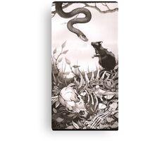 Death Kiss Canvas Print