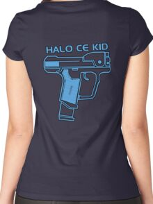 Halo CE Kid Women's Fitted Scoop T-Shirt