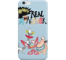 Real Monsters! iPhone Case/Skin
