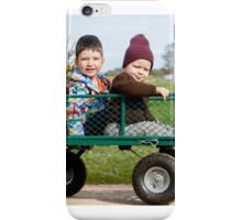 Flower delivery iPhone Case/Skin