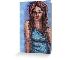 SelfPortrait Greeting Card