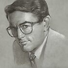 To Kill A Mockingbird Illustration (Atticus) by Josef Rubinstein