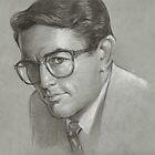 To Kill A Mockingbird Illustration (Atticus) by Josef Rubinstein