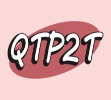 """QTP2T - """"Cutie patootie!"""" Kids Tee"""
