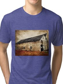 Lime Stone Barn Tri-blend T-Shirt