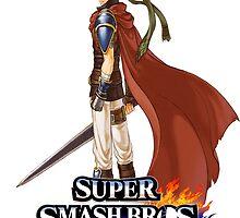 Super Smash Bros. 3DS/Wii U Ike by KwanChau