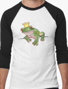 The Frog Prince Men's Baseball ¾ T-Shirt