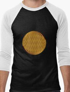 Gold Circle Men's Baseball ¾ T-Shirt