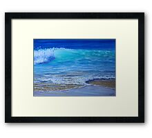 Salty Framed Print
