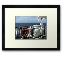 Scanning the Horizon Framed Print