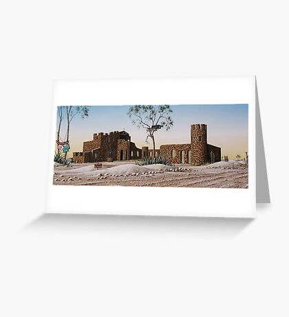 Amigos Castle Greeting Card