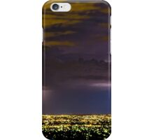 Lightning & Northern Adelaide Lights iPhone Case/Skin
