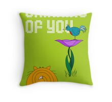Thinking of You - card Throw Pillow