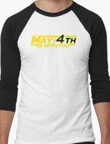 MAY THE 4TH BE WITH YOU Funny Geek Nerd T-Shirt