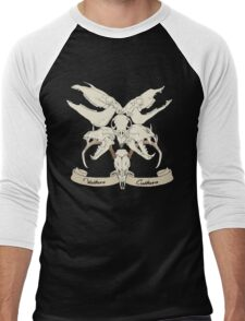 Vulture Culture Skulls Men's Baseball ¾ T-Shirt