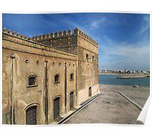 Kasbah of the Udayas, Rabat, Morocco Poster