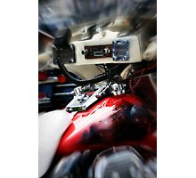 Get Your Motor Running Photographic Print