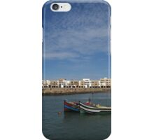 Fishing Boats on the River Bou Regreg in Rabat, Morocco iPhone Case/Skin