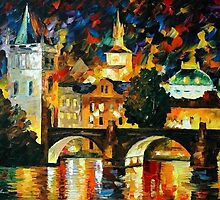 Prague — Buy Now Link - www.etsy.com/listing/217901186 by Leonid  Afremov