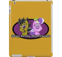 Stay Brony My Friends Show Logo iPad Case/Skin