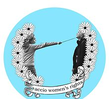 Accio Women's Rights-Blue by jordystories