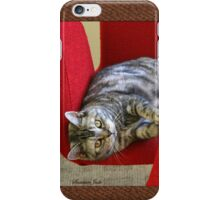 Kitty Cat Sending Love iPhone Case/Skin
